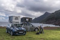 AutoHome's new rooftop tent for Mini Countryman