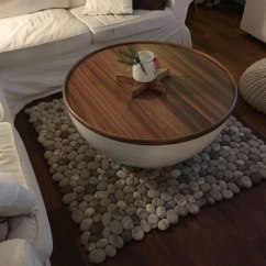 How To Clean Big Living Room Rugs Design Tool Amazing Felt That Look Like River Cobbles