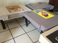 DIY video game coffee tables designed to bring out nerd in ...