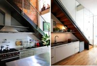 19 Space Saving Under Stairs Kitchens You Need To See ...