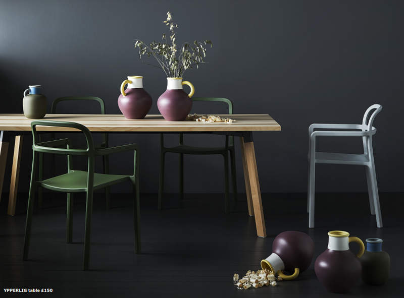 wooden chair cushion covers hanging target ikea and hay to unveil ypperlig collection this fall