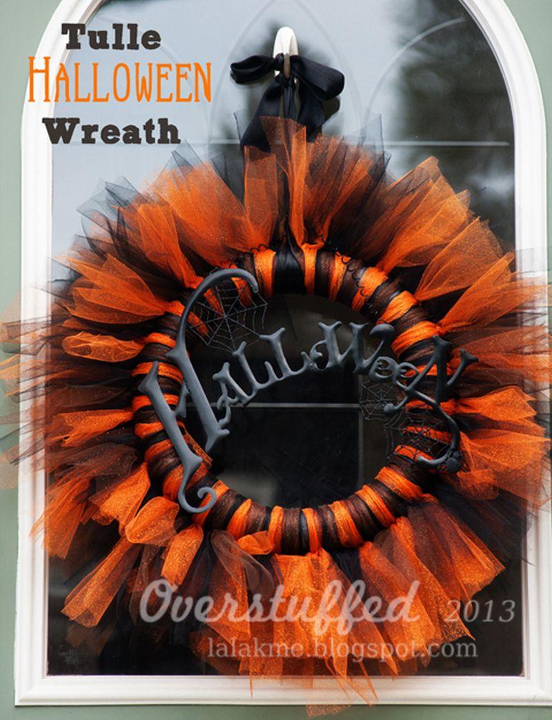 80+ DIY Halloween Wreath Ideas to Try in 2018