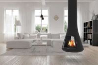 Calista 917 fireplace is a sophisticated alternative to ...