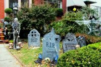 10 Spooky Outdoor Halloween Decoration ideas for Festival ...