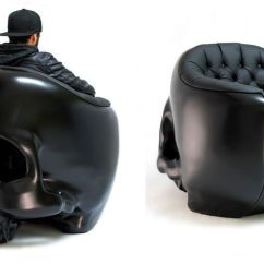 Skull Chair Knoll Replacement Parts 13 Badass Chairs For A Boo Tiful Halloween Giant Armchair By Gregory Besson