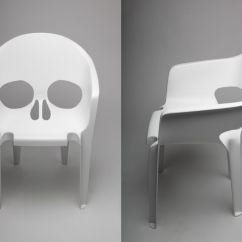 Black Skull Chair Backpack Beach Chairs 13 Badass For A Boo Tiful Halloween White Fiberglass By Pool