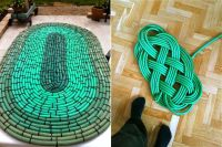 How to turn your old garden hose into no-slip outdoor mat