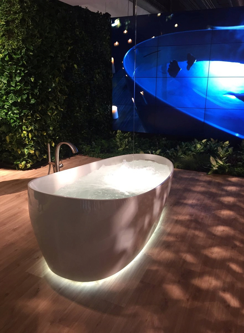 panton s chair stool ikea malaysia toto's flotation tub calms your mind with its zero gravity therapy