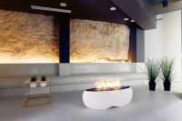 Zen Freestanding Bioethanol Fireplace by Planika