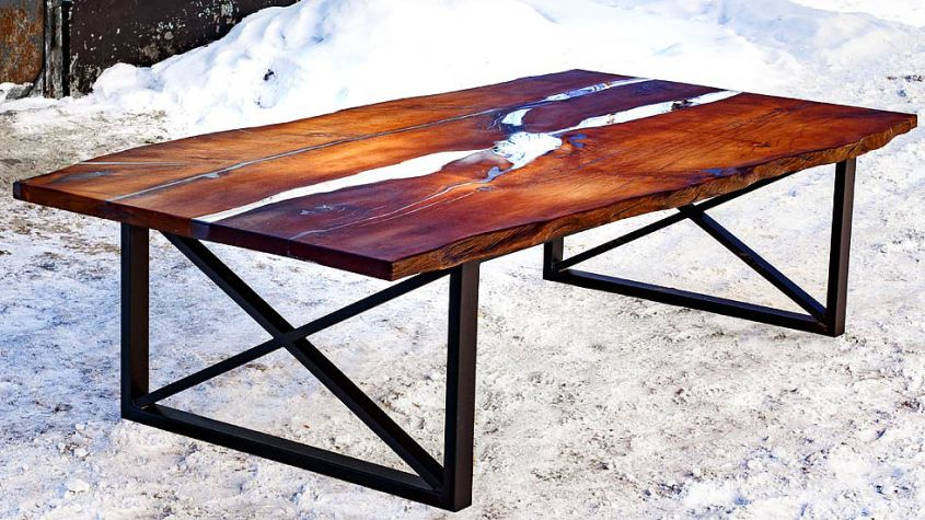 Diy Epoxy Dining Table