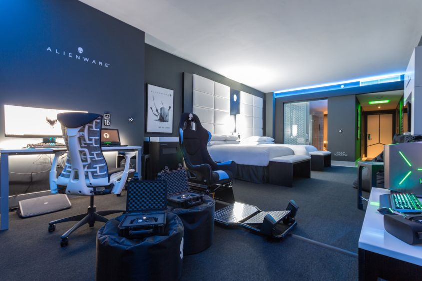 Hilton Panamas Alienware Room for Game Crazy Travelers