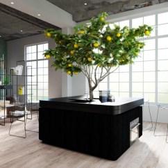 Freestanding Kitchen Island Pottery Barn Hutch Homecrux Oasi By Stefano Boeri Architetti At Salone 2018