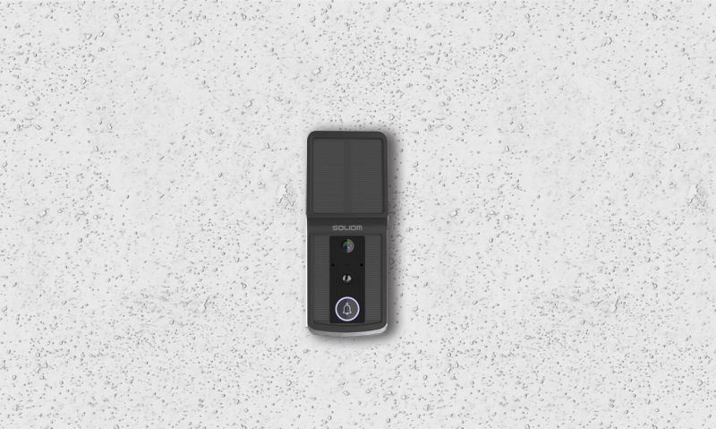 Soliom Solar-Powered Smart Video Doorbell Promises Easy