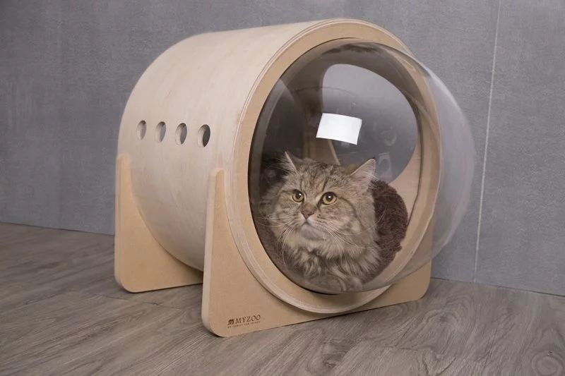 Myzoo Studios SpaceshipInspired Cat Beds