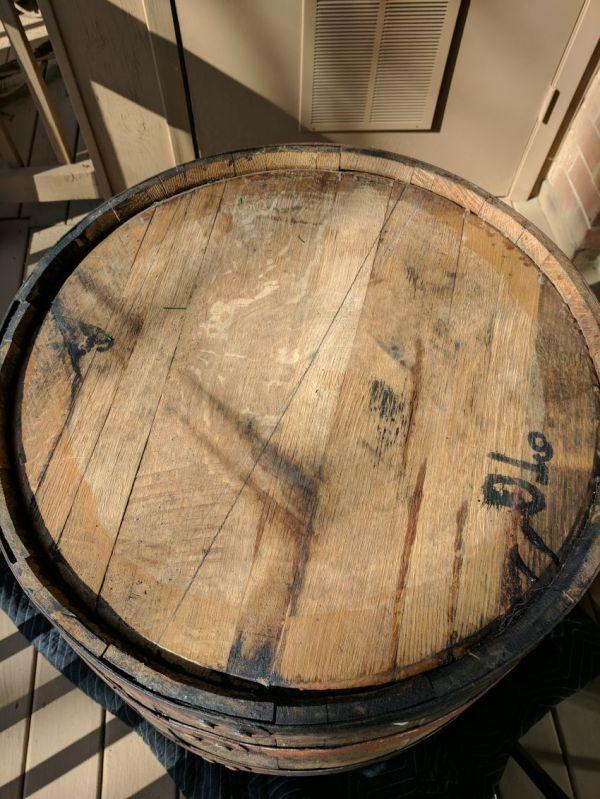 Old Whiskey Barrel