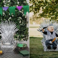 Iron Throne Chair Diy Wedding Covers And Sashes Your Baby Will Love Rule This Easy Make A Sized Using Craft Foam