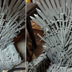 Iron Throne Chair Kitchen Chairs Cheap Your Baby Will Love And Rule This Diy Easy Make A Sized Using Craft Foam