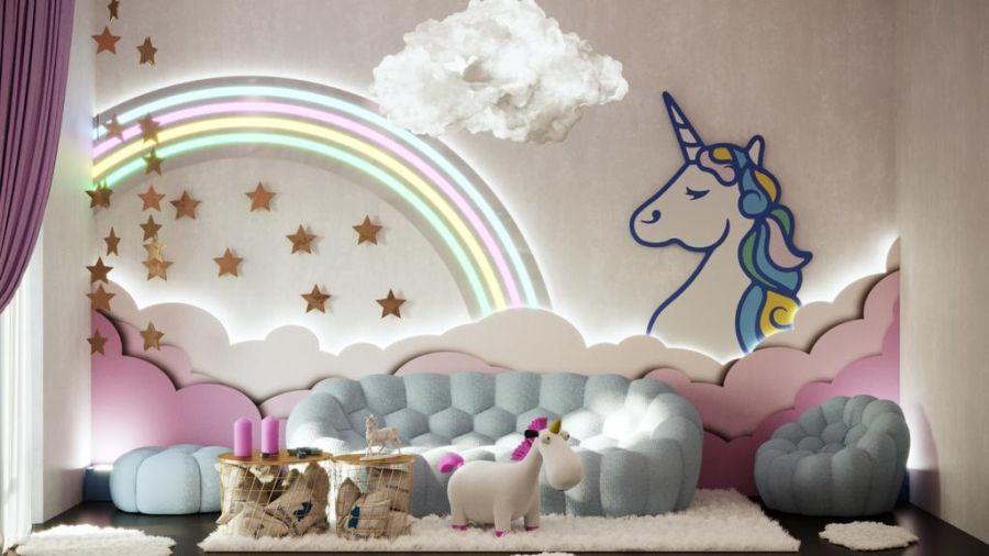 Unicorn Themed Room Decor From Milan Design Week 2019