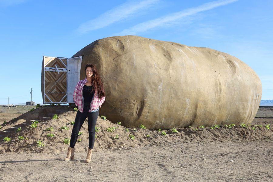 Big Idaho Potato Turned into Airbnb Rental in Boise