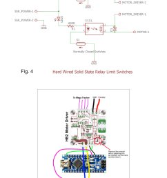 ssr hard limit switch schematic and pulse freqency divider [ 1024 x 1631 Pixel ]