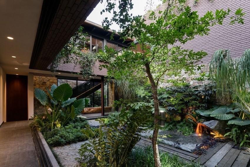 6 Minimalist Front House Designs With Spacious Garden Home Decor Ideas