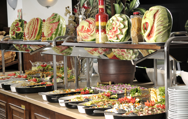 Table Buffet Decoration