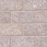 MSI Silver Travertine 3x6 Subway Tile Backsplash
