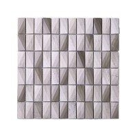 Stacked Stone Mosaic Tile - Tile Design Ideas
