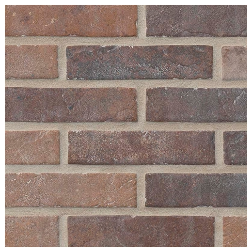 msi capella red brick mosaic tile