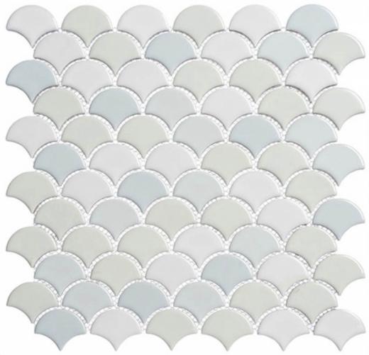 scl593 scallop lace off white fan tile