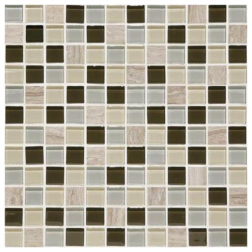 Buy Daltile Mosaic Traditions Tile Evening Sky 1x1 Mosaic BP97
