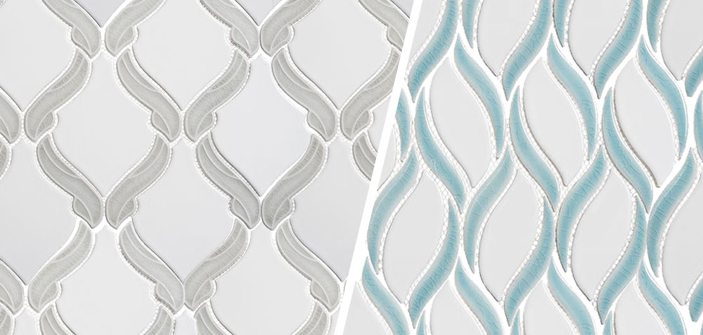 new glazzio wall and floor tiles