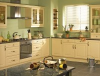 Yellow and Green Color combo Kitchen Design Ideas | Home ...