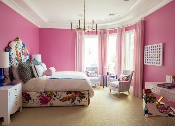 Pink Bedroom Designs, Ideas, Photos Gallery, Decor