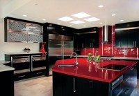How to Design a Red and Black Kitchen - Home Decor Buzz