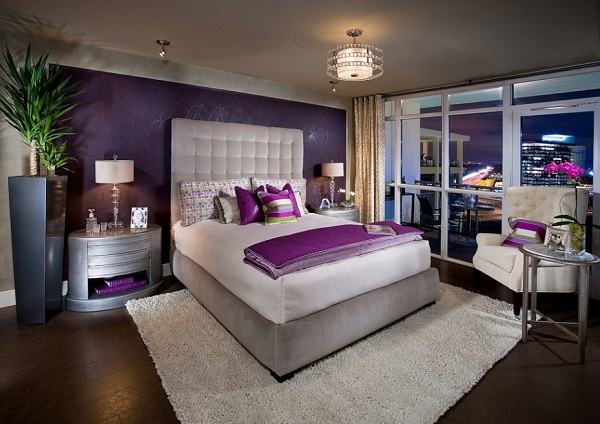 Awesome Purple Bedroom Decor Designs Ideas Photos Home Buzz