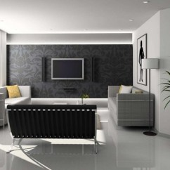 Living Room Interior Decorating Ideas Best Design Trends 2019 Home Decor Buzz Black White Grey