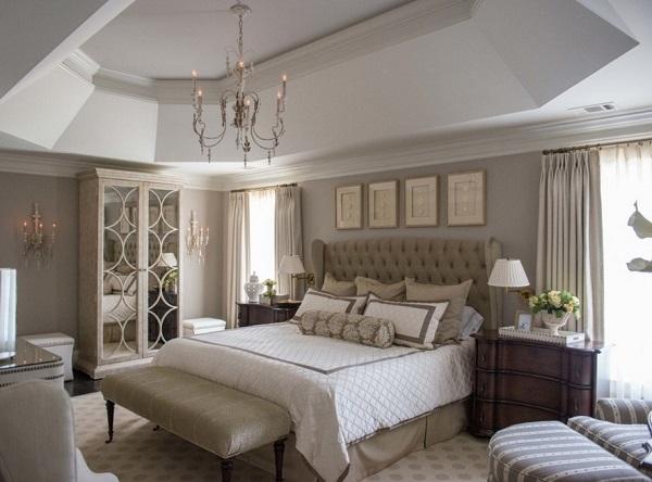 Elegant Gray Bedroom Walls Home Decor Buzz