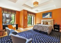 Orange Bedroom Designs, Decorating Ideas, Photos