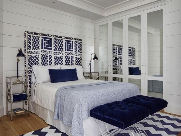 Blue Modern Bedroom Interior Decor Style Home Decor Buzz