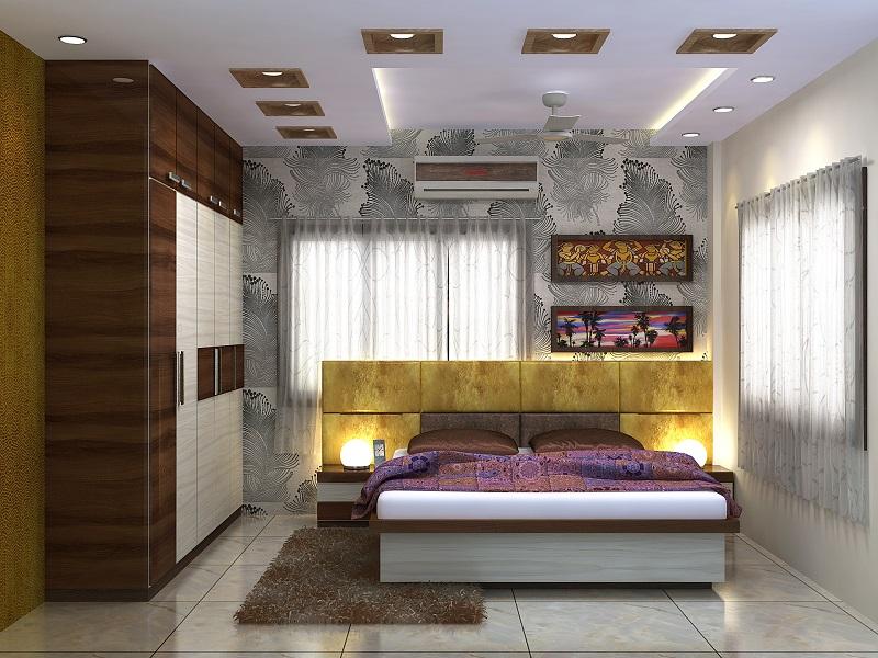 Bedroom Design For 3 Bhk Flat In Vedic Village Kolkata Home Decor Buzz