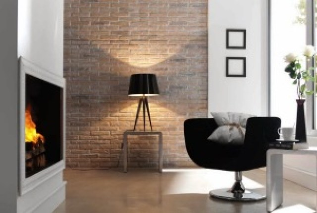 Exposed Brick Wall Decor