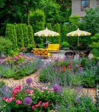 beautiful backyards, garden ideas