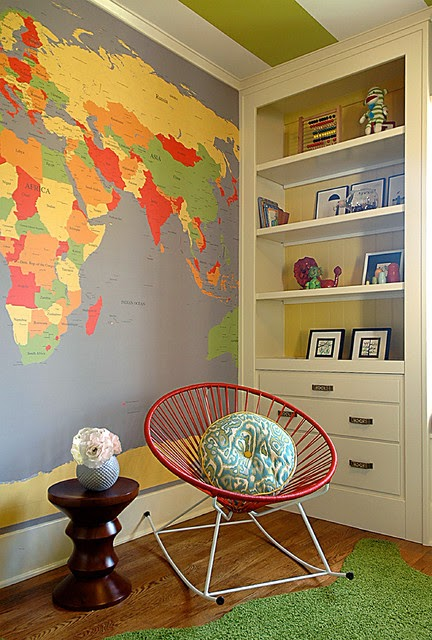 Decorate With World Maps