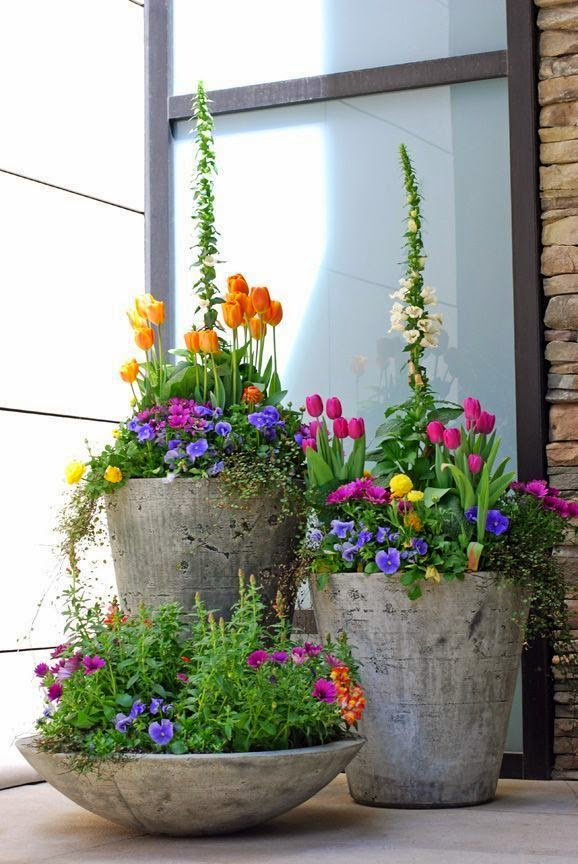 Garden Planters For Front Porch