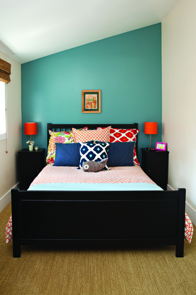 Feature Wall With Just Paint
