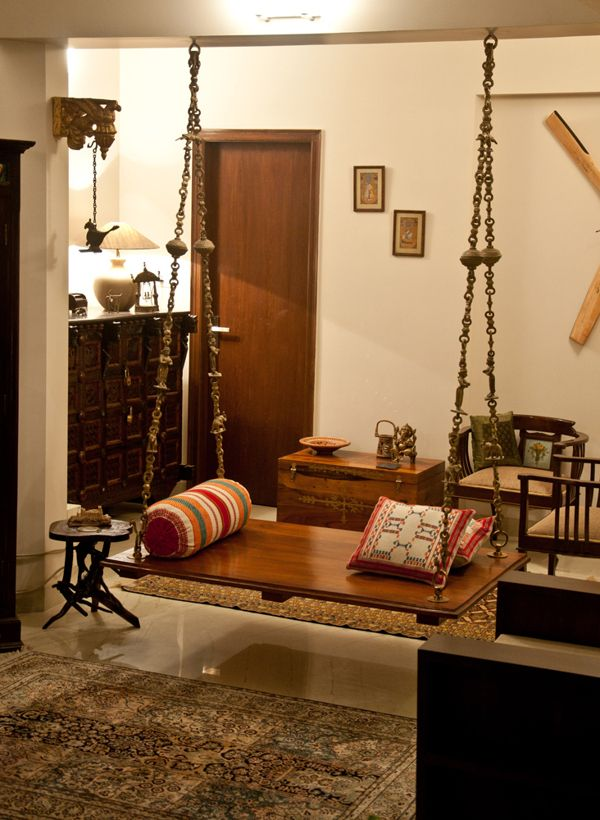 Oonjal Wooden Swings In South Indian Homes