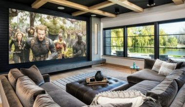 media room curtain ideas