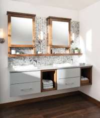 Some Great Ideas for Floating Bathroom Vanity Plans - Home ...