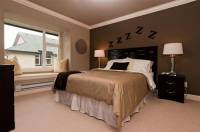 How to Decorate Your Bedroom with Brown Accent Wall - Home ...